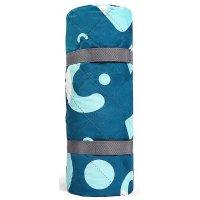 Портативный влагостойкий коврик для пикника 2x1.4m (синий)