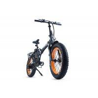 Велогибрид Cyberbike 500 Вт (Черно-оранжевый-1862)