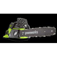 Аккумуляторная цепная пила Greenworks GD40CS40K4