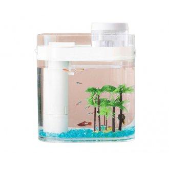 Аква-ферма с увлажнителем Xiaomi Descriptive Geometry Amphibious Fish Tank (HF-JHYGZH001)