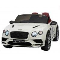Детский Электромобиль Bentley Continental Белый (JE1155 Б)