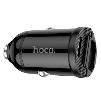 Автомобильное зарядное устройство HOCO NZ2 Link, 2*USB, черный