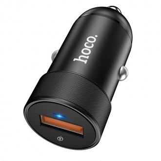 Автомобильное зарядное устройство HOCO Z32A Flash, 4A Черный