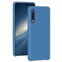 Бампер Silicone Cover для Xiaomi Mi 9 (голубой)
