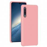 Бампер Silicone Cover для Xiaomi Mi 9 (розовый)