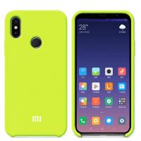 Бампер Silicone Cover для Xiaomi Note 7 (желто-зеленый)