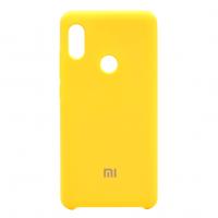 Бампер Silicone Cover для Xiaomi Note 7 (желтый)