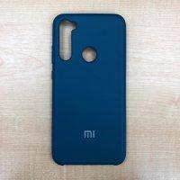 Бампер Silicone Cover для Xiaomi Note 8 (синий космос)