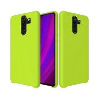Бампер Silicone Cover для Xiaomi Note 8 Pro (желто-зеленый)