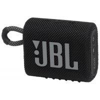 Беспроводная акустика JBL Go 3 Black (JBLGO3BLK)