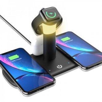 Беспроводное зарядное устройство LCS-LH5 5 в 1 для смартфона / Apple Watch / AirPods 15W