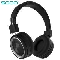 Беспроводные Bluetooth наушники SODO SD-1002 Black