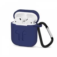 Чехлы для наушников Apple AirPods силиконовые в ассортименте