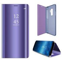 Чехол-книга (Фиолетовый)Clear viev / крышка-зеркало для P Smart/Honor 10 lite