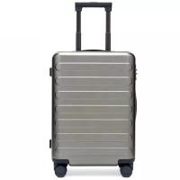 """Чемодан Ninetygo Business Travel Luggage 28"""" Light Grey"""