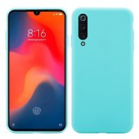Cиликон матовый /тех.пак/ для Xiaomi Mi-9 SE (2019) бирюзовый
