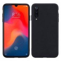 Cиликон матовый /тех.пак/ для Xiaomi Mi-9 SE (2019) черный
