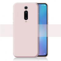Cиликон матовый /тех.пак/ для Xiaomi Mi 9T/K20/K20 pro (2019) розовый