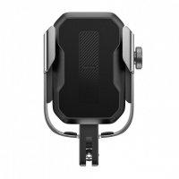 """Держатель для велосипеда/мотоцикла Baseus SUKJA-0S для смартфона 4.7-6.5"""" (Silver)"""