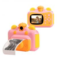 Детская камера с мгновенной печатью фотографий Leilam VUS розовый