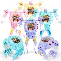 Детские часы-трансформер Mecha Robot Electronic Watch
