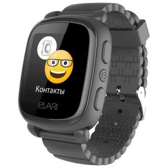 Детские часы Elari KidPhone 2 с GPS (KP-2) Black