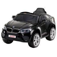 Детский Электромобиль Джип BMW X6M mini Черный (JJ2199 Ч)