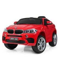 Детский Электромобиль Джип BMW X6M mini Красный (JJ2199 КК)