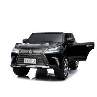 Детский Электромобиль джип Lexus LX 570 Черный (DK-F570 Ч)