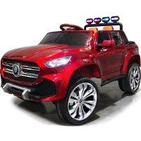 Детский электромобиль Mercedes-Benz PICKUP 4х4 YBD5478 красный краска