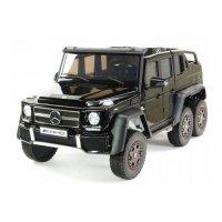 Детский электромобиль Mercedes Benz G63 6x6 4WD - ABL1801-BLACK-PAINT