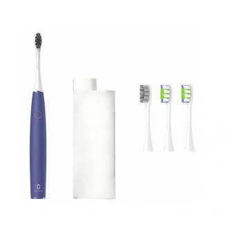 Электрическая зубная щетка Xiaomi Oclean Air 2 (4 насадки в комплекте, бесшумная) Фиолетовый