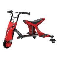 Дрифтовый трехколесный электробайк Razor Drift Rider красный