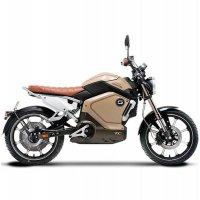 Электромотоцикл Xiaomi Super Soco TC 1500W 60V30ah Бежевый