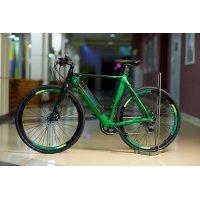 Электровелосипед Benelli E-misano (чёрно-зелёный)
