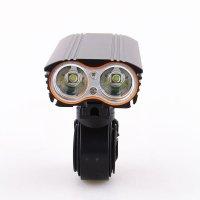 Фонарь велосипедный с держателем LR-Y2 LED-T6 18650 4400mAh 3 режима черный