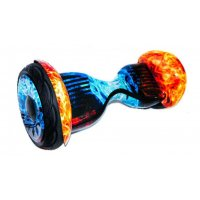 Гироскутер SMART BALANCE Red Blue Fire 10.5