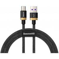 Кабель BASEUS Purple Ring HW USB Type-C 4А 1м (CATZH-AV1) Черный
