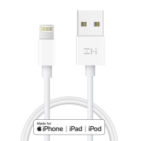 Кабель USB/Lightning Xiaomi ZMI MFi 200см White AL831
