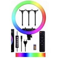 Кольцевая лампа RGB LED Soft Ring Light MJ36 (36 см)