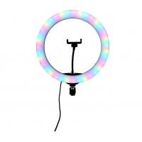 Кольцевая лампа RGB LED Soft Ring Light RL-13RGB (33 см)