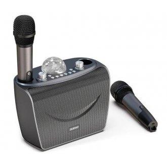 Колонка многофункциональная с двумя микрофонами DUDAO Multifunctional Bluetooth Speaker Y15