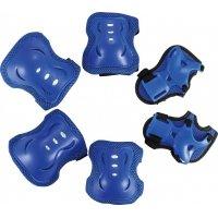 Комплект защиты Divine синий (наколенники, налокотники, назапястники)