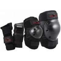 Комплект защиты Eight Ball Black S/M (5+/8+) - чёрный