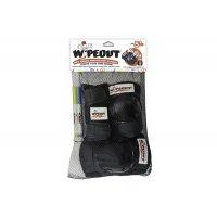 Комплект защиты Wipeout Black (M 5+) - чёрный