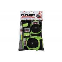 Комплект защиты Wipeout Zest (M 5+) - зеленый