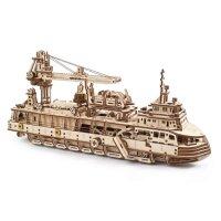 Конструктор 3D-пазл Ugears - Научно-исследовательское судно