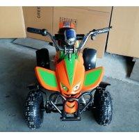Квадроцикл GreenCamel Gobi K100 (24V 350W R4 Цепной привод) Оранжево-зеленый