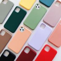 Накладка Silicone Case для iPhone 11 (Цвета в ассортименте)