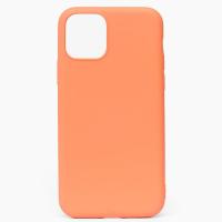 Накладка Silicone Case для iPhone 12 mini Light orange